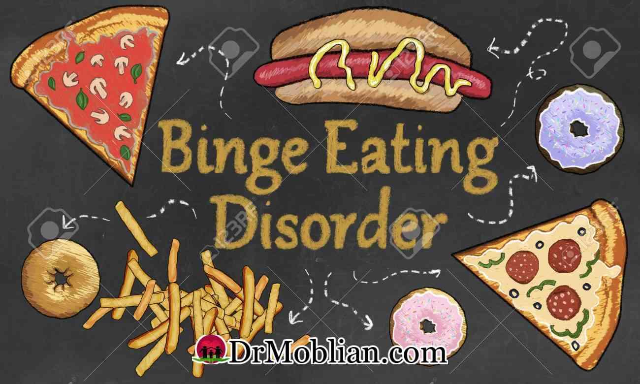 پرخوری ، یکی دیگر از اختلالات خوردن…
