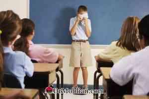 اختلال فوبی اجتماعی در کودکان