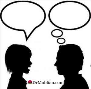 صحبت کردن