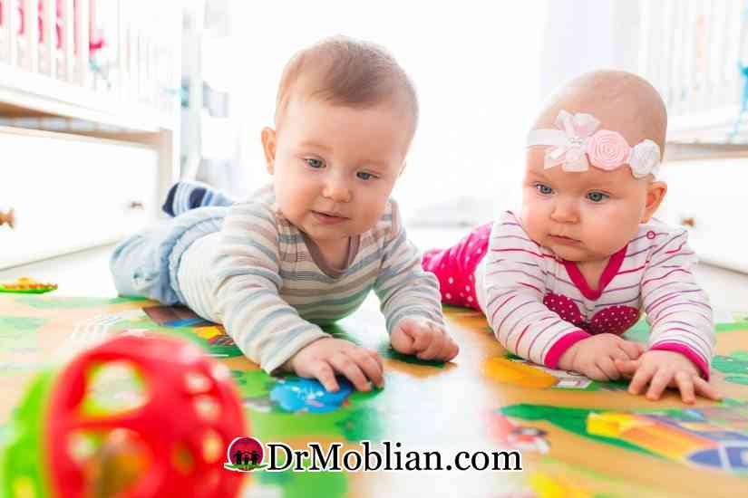 بازی های فکری برای کودکان ( تولد تا 3 سالگی )