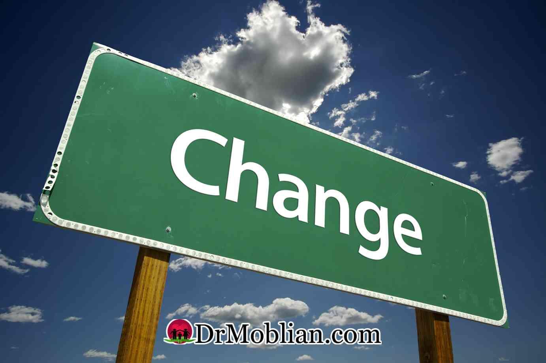 ما می توانیم تغییر کنیم