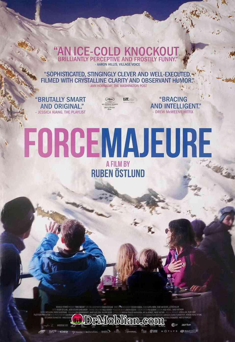 تحلیل و بررسی روانشناختی فیلم force majeure