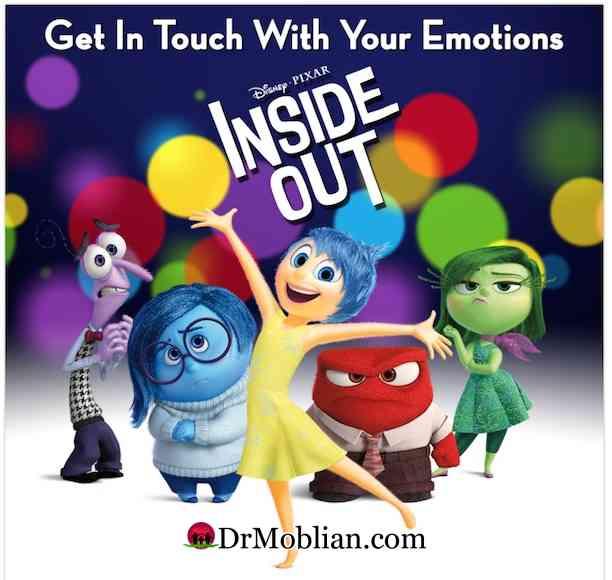 تحلیل و بررسی انیمیشن درون و بیرون-INSIDE OUT