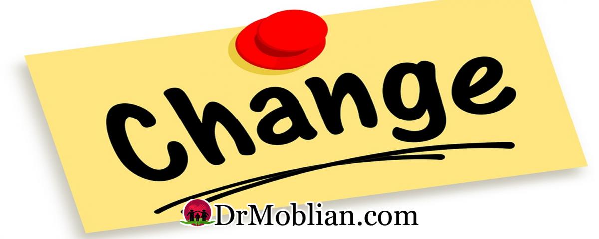 برای تغییر کردن چه چیز هایی لازم است؟