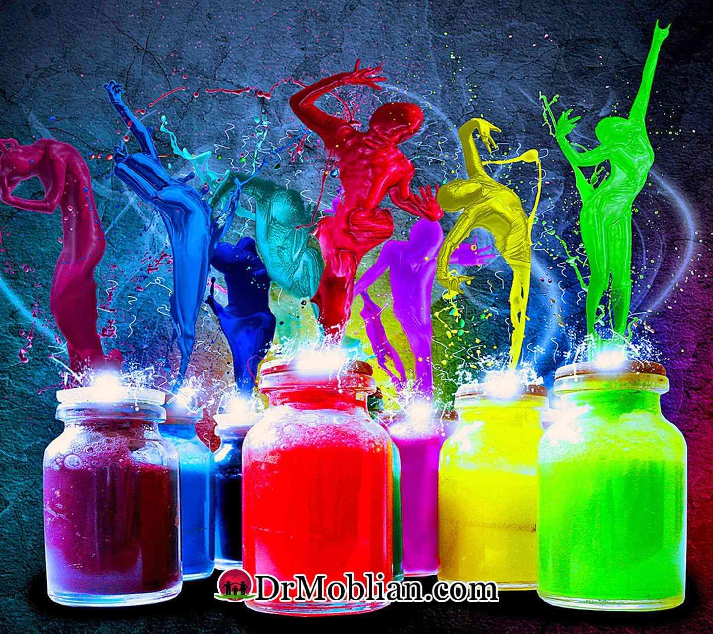 روانشناسی رنگ ها-قسمت دوم