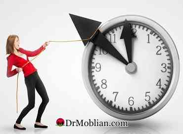 چگونه اختیار وقت خود را در دست بگیریم